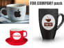 attractive coffee and paper cup for your shop or any