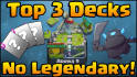 create the best decks depending on your cards in Clash Royale