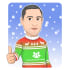 draw your picture wearing the ugly Christmas sweater