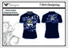 t shirt design , Vectorize